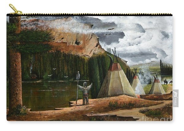 Spiritual Home Carry-all Pouch