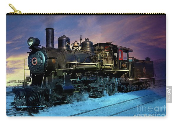 Steam Engine Nevada Northern Carry-all Pouch
