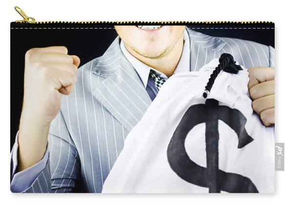 Success Brings Wealth Carry-all Pouch