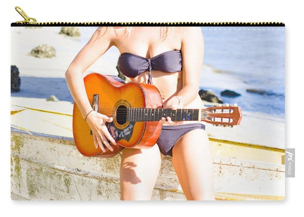 Summer Fun And Entertainment Carry-all Pouch