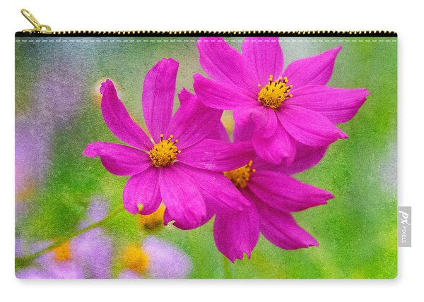 Carry-all Pouch featuring the photograph Summer Garden by Garvin Hunter