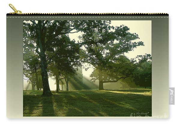 Sunrise On Antioch Road Carry-all Pouch