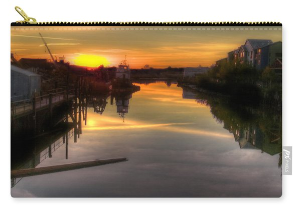 Sunrise On The Petaluma River Carry-all Pouch
