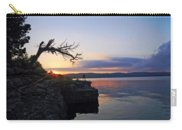 Sunrise Over Table Rock Lake Carry-all Pouch