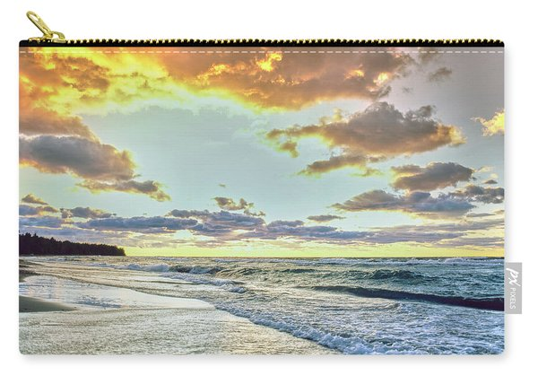 Sunset Over Lake Superior, Keweenaw Carry-all Pouch