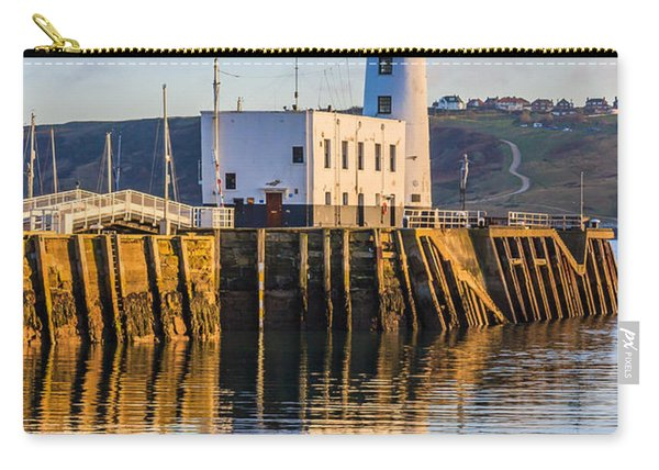 Sunset Over Scarborough Lighthouse Carry-all Pouch