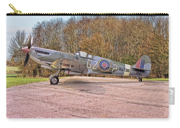 Supermarine Spitfire Hf Mk. Ixe Mj730 Carry-all Pouch