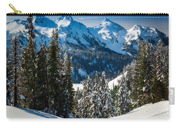 Tatoosh Winter Wonderland Carry-all Pouch