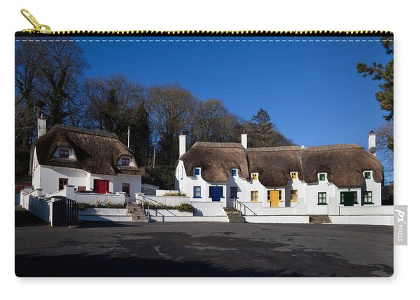 Thatched Cottages Near Dunmore Strand Carry-all Pouch