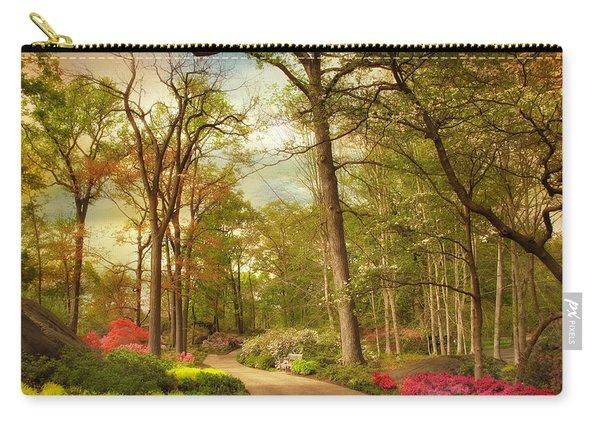 The Azalea Garden Carry-all Pouch
