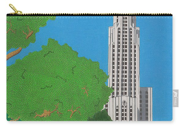 The Cathedral Of Learning Carry-all Pouch