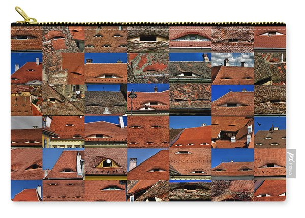 The City's Eyes Sibiu Hermannstadt Romania Carry-all Pouch