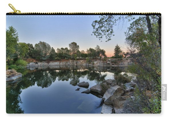 Carry-all Pouch featuring the photograph The Quinn Quarry by Jim Thompson