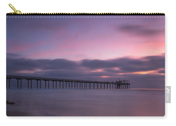 The Scripps Pier Carry-all Pouch