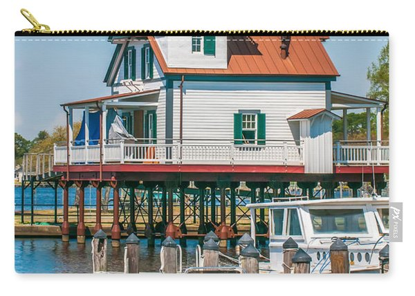 Town Of Edenton Roanoke River Lighthouse In Nc Carry-all Pouch