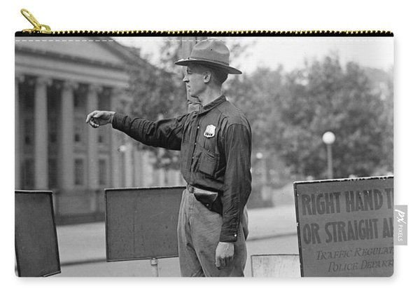 Traffic Cop, 1918 Carry-all Pouch