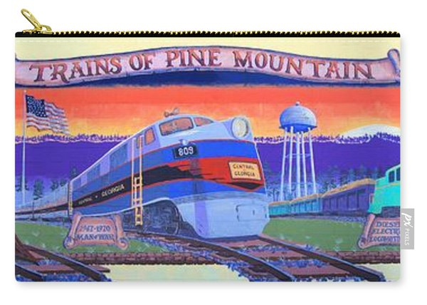 Trains Of Pine Mountain Carry-all Pouch