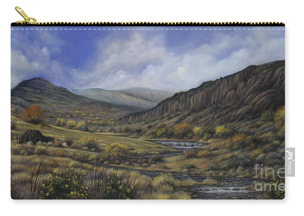 Tres Piedras Carry-all Pouch