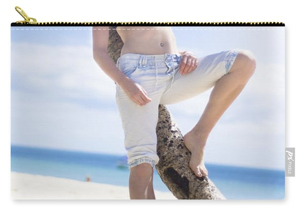 Tropical Island Paradise Carry-all Pouch