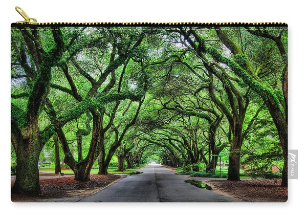 Tunnel Of Oaks Carry-all Pouch