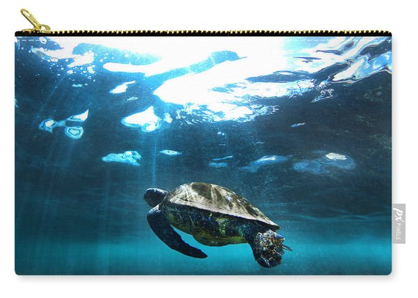 Turtle Rays Carry-all Pouch