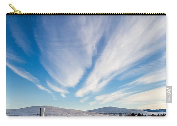 Under Wyoming Skies Carry-all Pouch