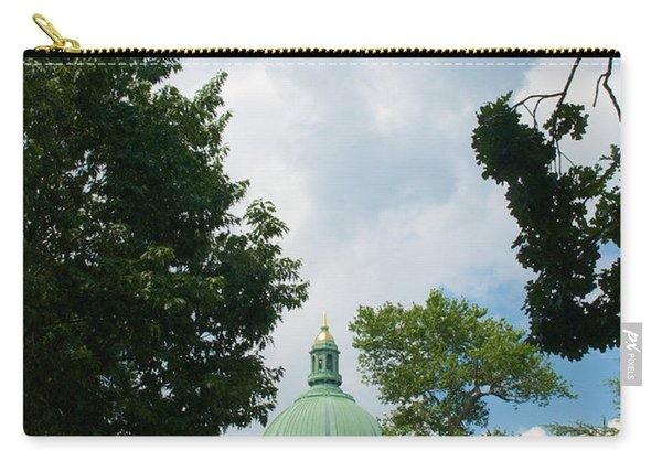 Us Naval Academy Chapel Dome Carry-all Pouch
