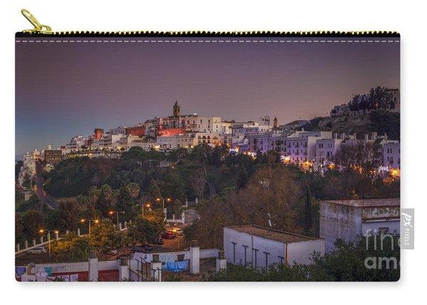Vejer De La Frontera Panorama Cadiz Spain Carry-all Pouch