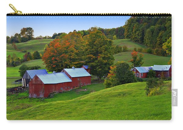 Vermont's Jenne Farm Carry-all Pouch