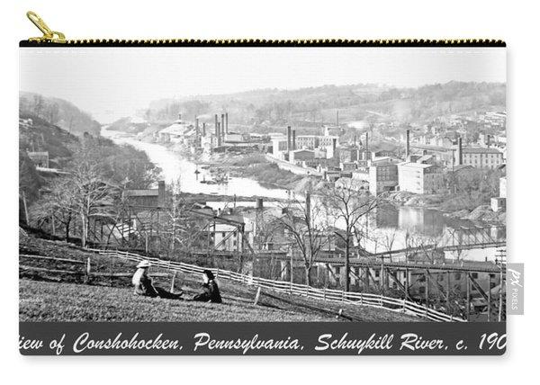View Of Conshohocken Pennsylvania C 1900 Carry-all Pouch