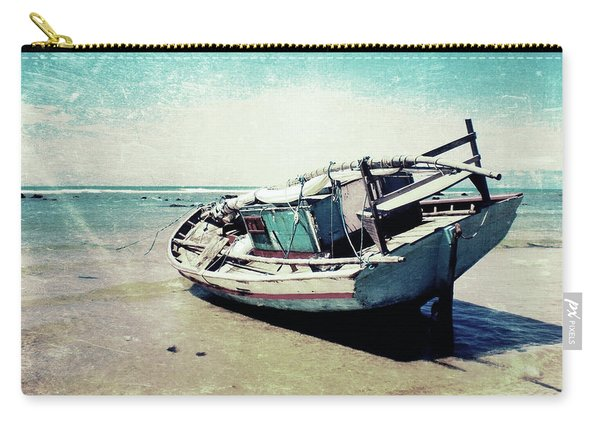 Waiting For The Tide Carry-all Pouch