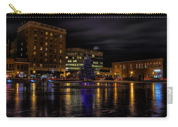 Wausau After Dark At Christmas Carry-all Pouch