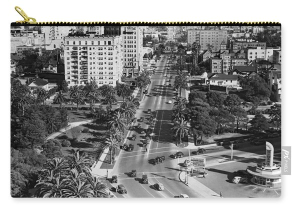 Wilshire Boulevard In La Carry-all Pouch