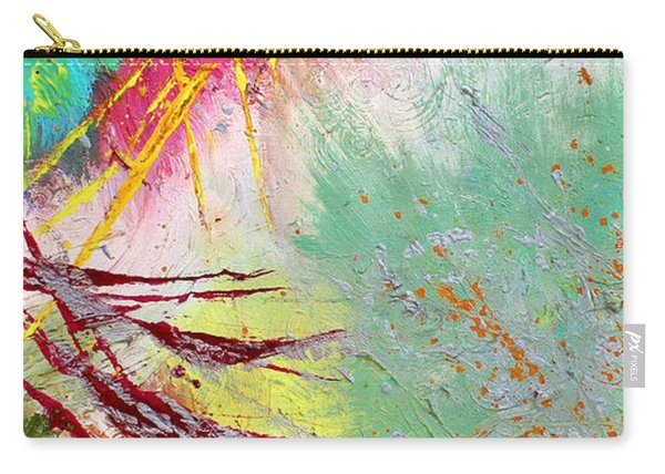 Modern Abstract Diptych Part 2 Carry-all Pouch