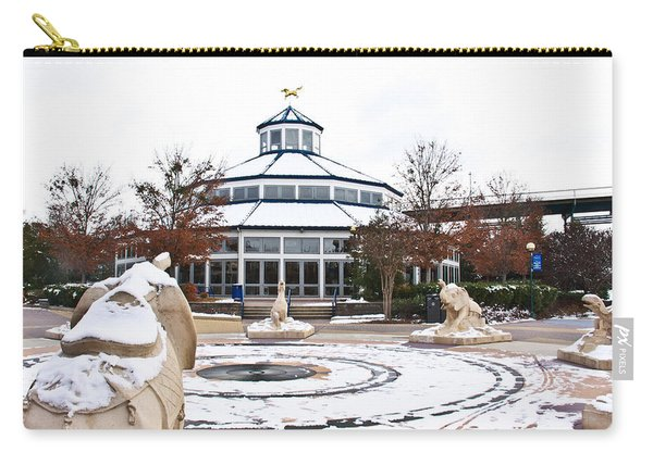 Winter In Coolidge Park Carry-all Pouch
