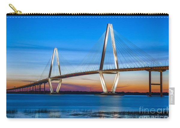 Charleston Arthur Ravenel Bridge Carry-all Pouch