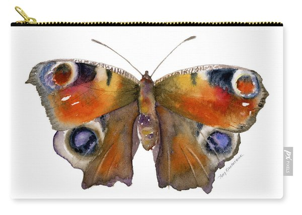 10 Peacock Butterfly Carry-all Pouch