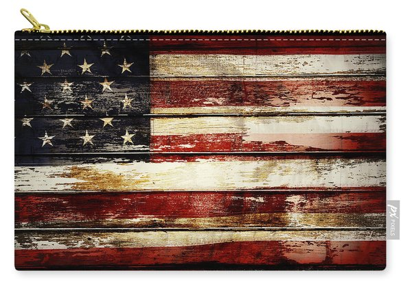 American Flag 33 Carry-all Pouch
