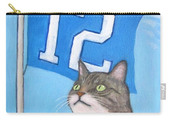 12th Cat #1 Carry-all Pouch