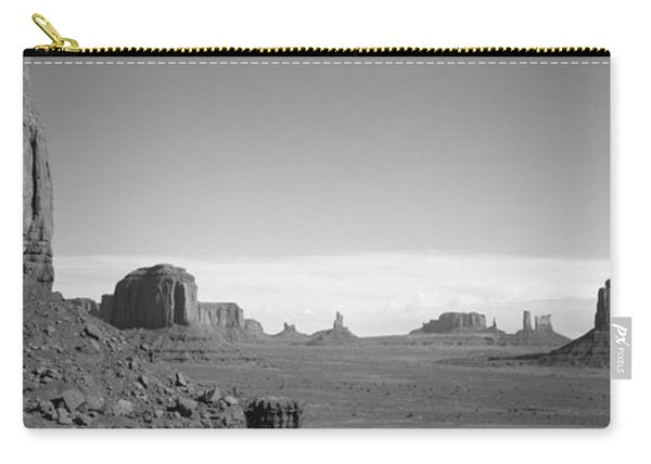 Rock Formations On A Landscape Carry-all Pouch