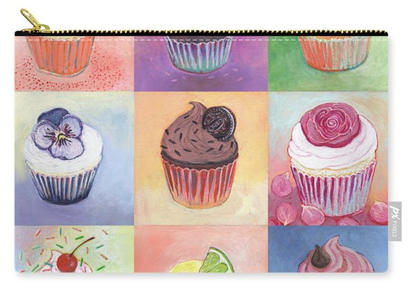 15 Cupcakes Carry-all Pouch