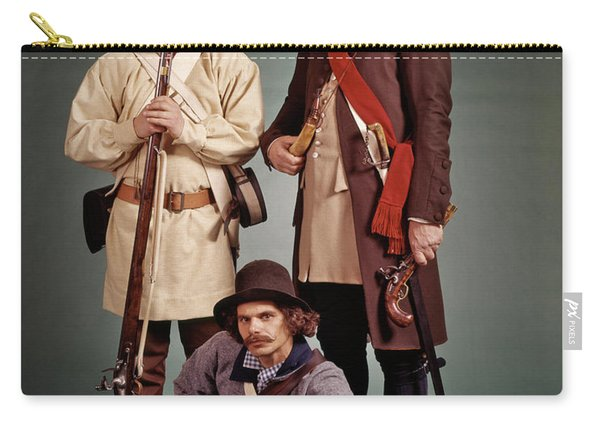 1700s 1776 Colonial Militiamen Carry-all Pouch