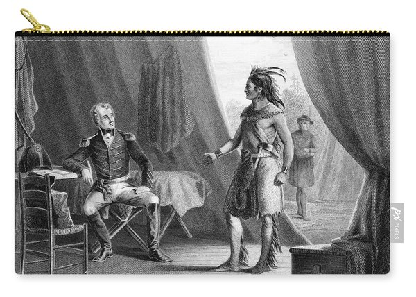 1814 General Andrew Jackson & Red Eagle Carry-all Pouch