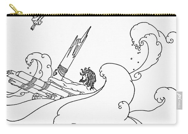 Homer The Odyssey Carry-all Pouch