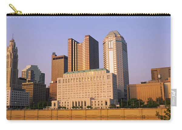 Low Angle View Of Buildings In A City Carry-all Pouch