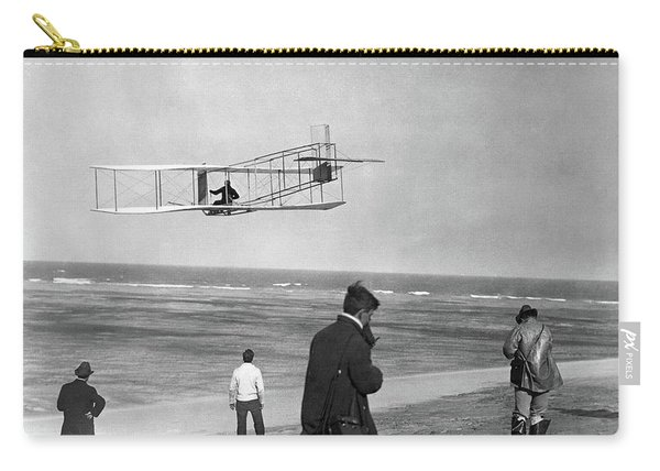 1911 One Of The Wright Brothers Flying Carry-all Pouch