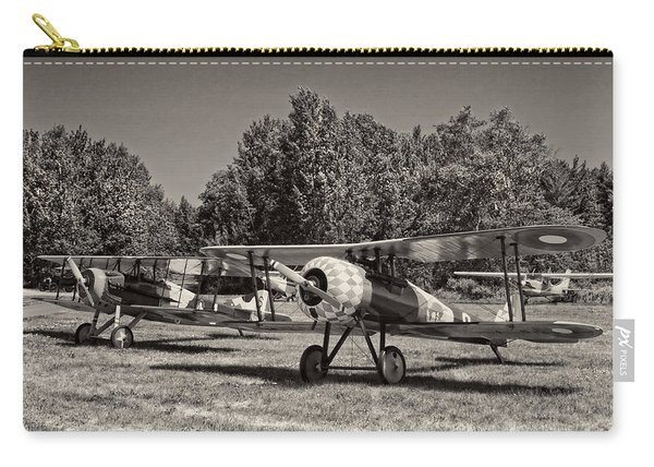 1917 Nieuport 28c.1 Classic Biplane Carry-all Pouch
