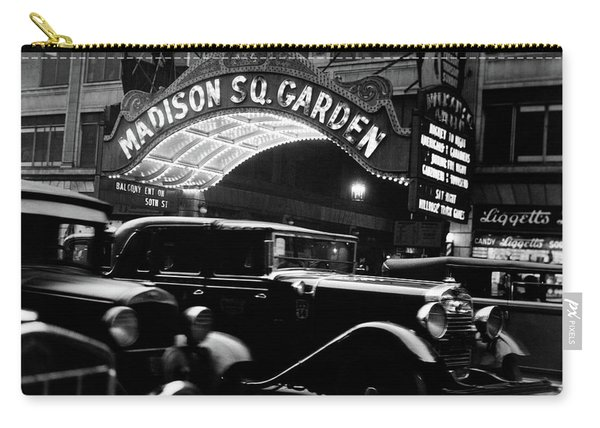 1920s 1930s Cars Taxis Madison Square Carry-all Pouch