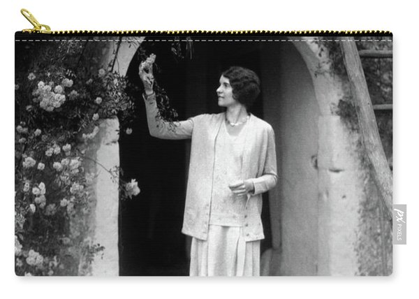 1920s 1930s Woman In Flapper Outfit Carry-all Pouch