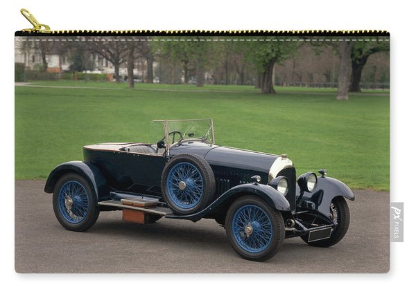 1924 Bentley 3.0 Litre Boat Tail Carry-all Pouch